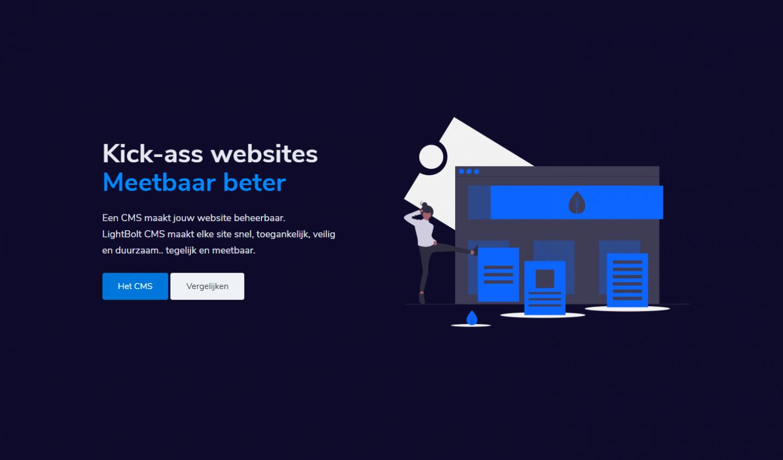 Meetbaar betere websites via LightBolt