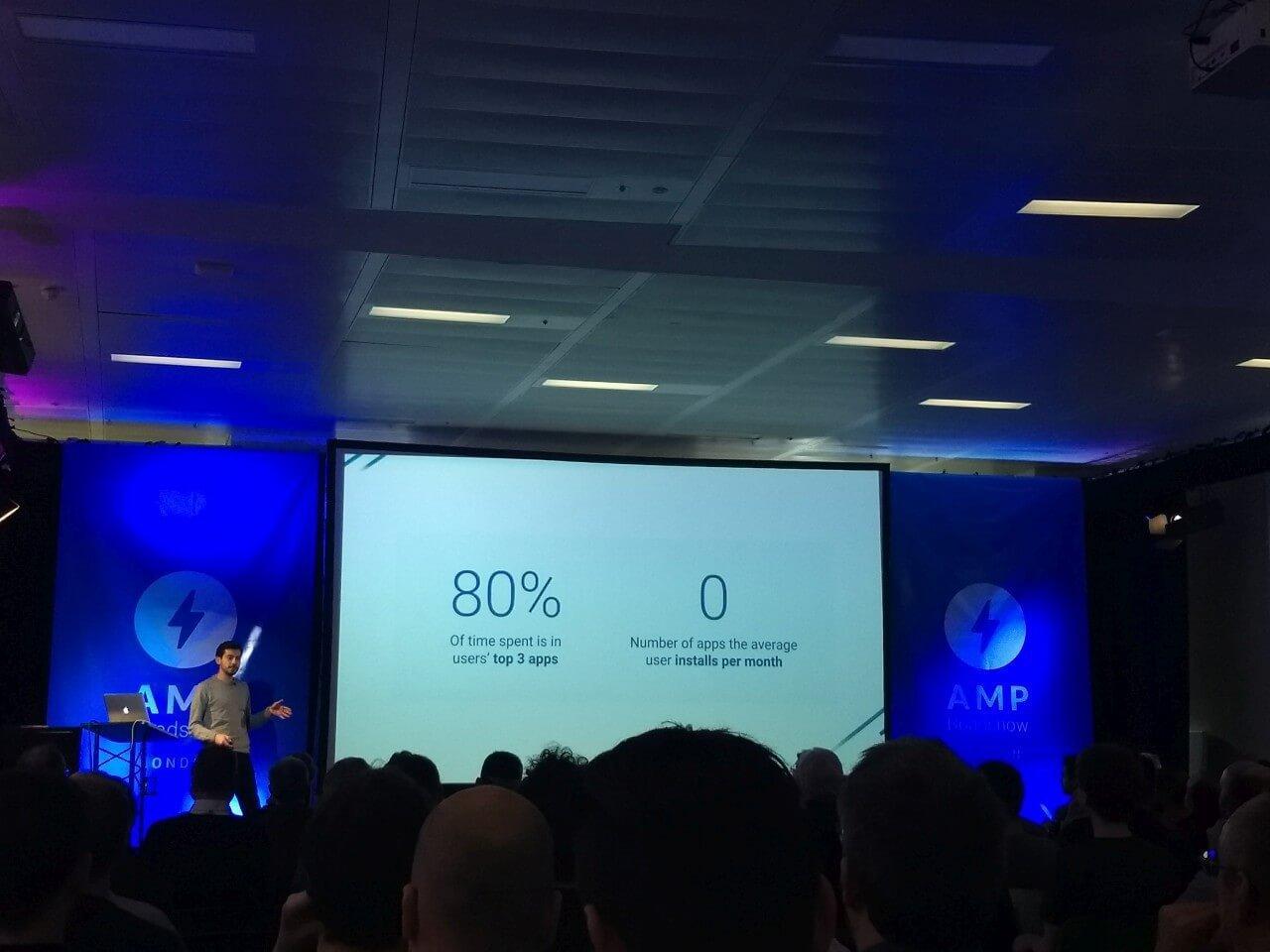 Google's AMP seminar te Londen